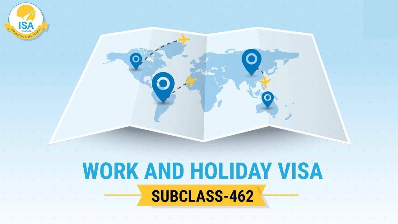 visa Úc 462 kết hợp làm việc và du lịch Úc