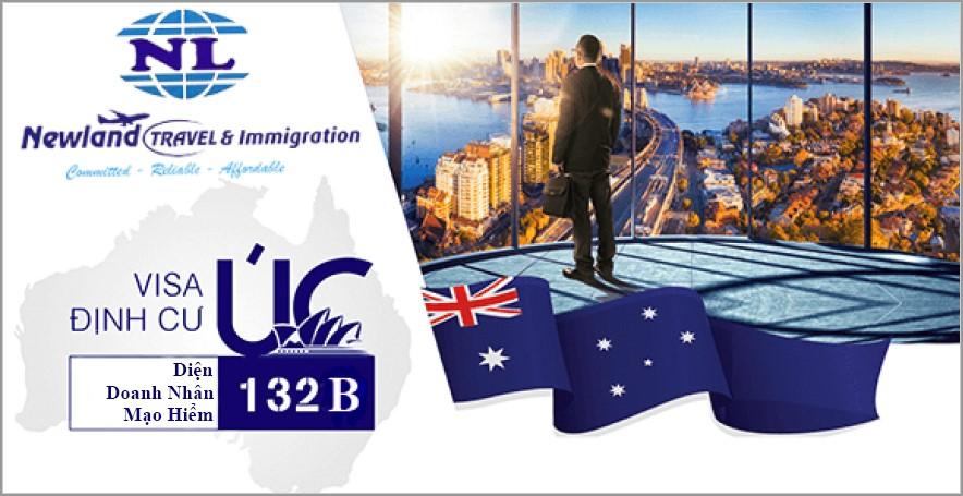 Visa đi Úc diện đầu tư 132B doanh nhân đầu tư mạo hiểm